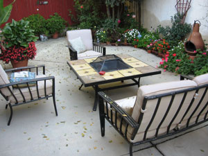 The Was A Basic Wood Burning Fire Pit Purchased Locally And Converted With  Our Fire Pit Propane Kit (FPPK)